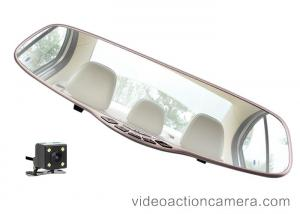 China Night Vision Road Dash Video Camera HD For Car Driving , Silver Glass Materials on sale