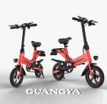 2019 new electric bicycle, equipped with high-definition liquid crystal instrument, 48V lithium battery power supply