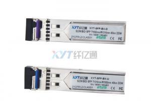 China Gigabit 40km DDM BIDI Mini Gbic SFP 622M Optical Transceiver Module With LC Connector on sale