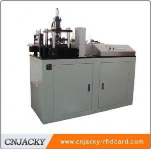 China 2018 Guangzhou A4 Automatic PVC Card Punching Machine with PLC Control System on sale