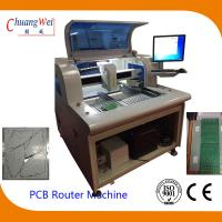 China Tab Routed Depaneling PCB Router Equipment With 650*500mm Working Area on sale