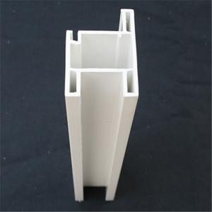 Recycled Extruded Plastic Profiles Pvc Profile Door Sash Fire