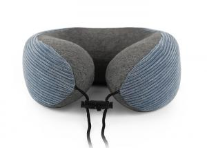 China Super Soft Neck Support Travel Pillow Folding Car Airplane U Shaped Roll on sale