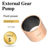 PTFE Internal & External Gear Pumps Self Lubricating Plain Bearing Bushings And Motors