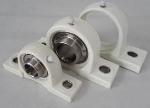 China PBT Housing Plastic Pillow Block Bearing With POM , HDPE , PP , UPE , PTFE , PEEK on sale