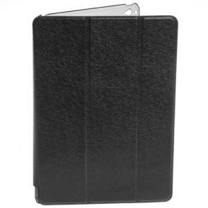 China Black Foldabl Leather Ipad Protective Cases for iPad Air / iPad Air 2 on sale