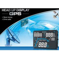 Audi Q7 5.5 Inch Heads Up Speed Display Over Speed Alarm High - Definition Screen
