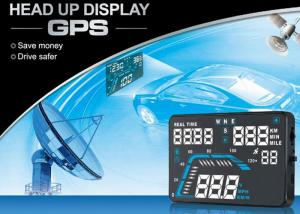 China Audi Q7 5.5 Inch Heads Up Speed Display Over Speed Alarm High - Definition Screen supplier