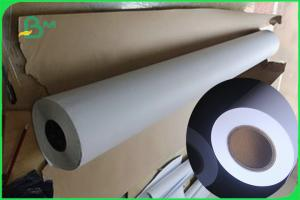 China 80gsm CAD Plotter Drawing Paper Roll For Textiles & Construction on sale