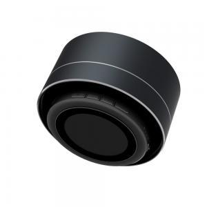 China Portable wireless bluetooth speaker,outdoor mini waterproof led speaker,Black Aluminium bluetooth speaker on sale