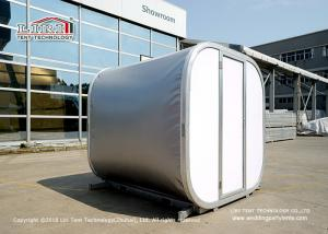 China Luxury Modular Box Capsule Cube Hotel Tent For Party campion different color on sale