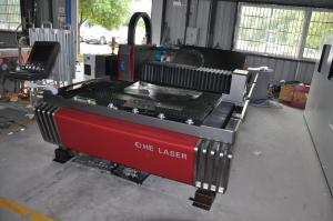 China Stainless Steel Fiber Laser Cutting Machine 700W With Cutting Speed 21m/min on sale