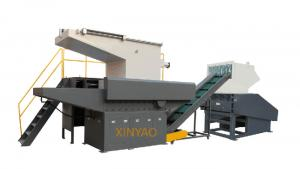 China Sola máquina de la trituradora del eje para la caja de madera XB-48100 on sale