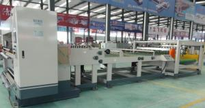 China Single Corrugated Cardboard Machine Electric Blade Adjustment 1800mm Working Width on sale