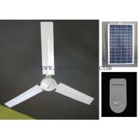 China Solar ceiling fan on sale