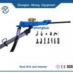 air leg rock drill|Jackills Pneumatic Rock Drills Portable Drill Bit for Coal Mine Tunnels air leg rock drill