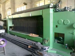 China Gabion Mesh Hexagonal Wire Netting Machine Double Twist , 4.2mm PVC Wire Dia. on sale