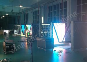 China Outdoor Wifi / 3G Led Poster Panel , Led Advertising Poster 4mm Pixel Pitch on sale