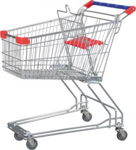 Quality Easy Handling Supermarket Shopping Trolleys Y Asian Style Series HBE-Y-75L for sale