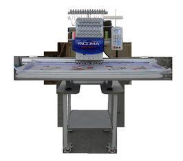 China Automatic 12 needle Single Head Embroidery Machine for cap / garment on sale