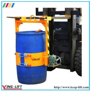 China Forklift Mounted and Crane Mounted Drum Lifters LM800 on sale