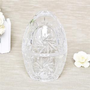 China Best selling hot design egg jar home decoration glass storage egg jar on sale