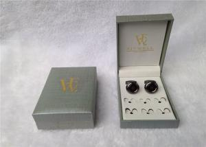 China Ring Storage Cufflink Gift Boxes Personalized For Packing , Book - Type on sale