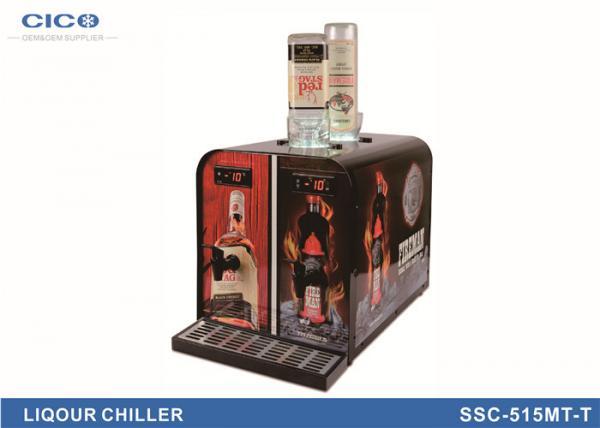 Electric Liquor Chiller Dispenser , Upside Down Liquor