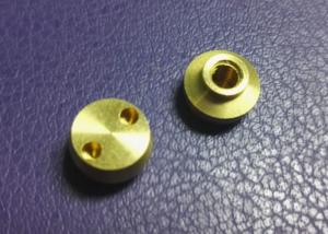 China Small Brass Precision Musical Instrument Parts Custom With CNC Machining Services on sale