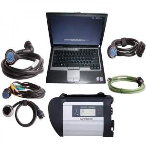 China V2017.07 MB Star Diagnosis SD Connect  Compact C4 MB Star C4SD CONNECT With Dell D630 Laptop on sale