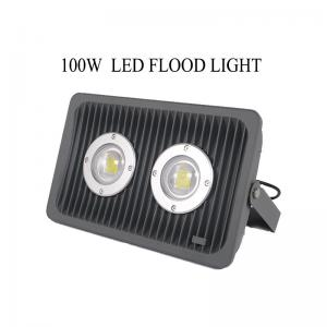 China Outdoor 100W Led Flood Light IP65 waterproof CE FCC ROHS Certificate on sale