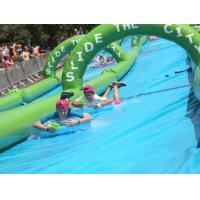 inflatable Slope Slide the City, Gaint 300 Meters Water Slide for Adults