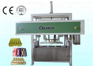China Safe Fruit Paper Tray Making Machine Semi Automatic 1200Pcs / H on sale