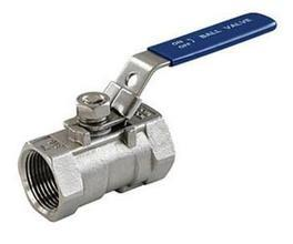 China Compact Structure Cast Steel Ball Valve , Screwed Ball Valve PTFE Sealing on sale