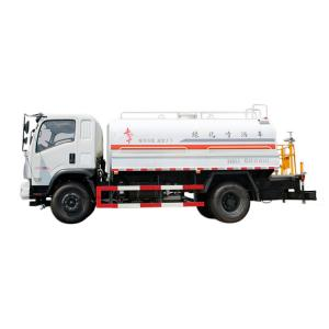 China 6045kg Special Purpose Vehicles Road Spray Sprinkler For Dust Suppression on sale
