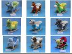 Lovely Animal Plush Baby Rocking Chair Collection For Baby Ride on Playing