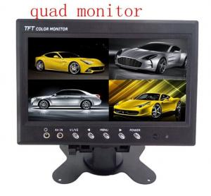 China Heavy Duty TFT Digital Rear View Car Lcd Monitor PAL / NTSC For Truck on sale