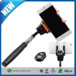 China Bluetooth Monopod Shutter / Adjustable Phone Holder For iPhone wholesale