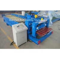 China 1250mm Glazed Tile Roof Panel Roll Forming Machine / Cold Roll Forming Equipment on sale