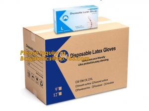 China Disposable latex glove medical examination gloves,Medical Natural latex examination glove no powder,disposable medical g on sale