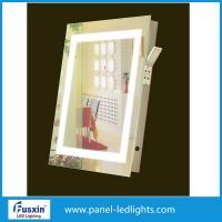 Square Frameless LED Mirror Lights Bathroom Mirror Side Lights Anti Fog Waterproof