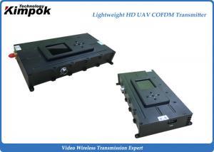 China 515g Leightweight COFDM Wireless Transmitter NLOS Camera Video Sender Encryptioned on sale