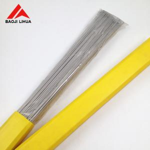 China ErTi2 Titanium Welding Rod Gr2 1.2mm 1.6mm 2.6mm TIG Rod Pickling Surface on sale