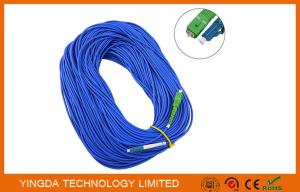 China SM SX SC / LC Fiber Optic Patch Cord 0.9mm ( 9 / 125um) , 1.6mm , 1.8mm , 2.0mm , 3.0mm on sale