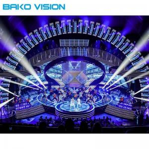 China Stage Performance HD Indoor LED Display Screen Full Color P3.91 P4.81 500x500mm on sale