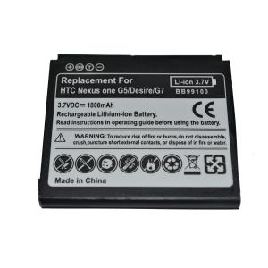 China HTC Nexus One/G5 1800mAh,3.7Voltage for Desire G7manufacturer products on sale