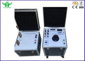 China 25kva Electrical Test Set , Manual Operation Primary Current Injection Test Set on sale