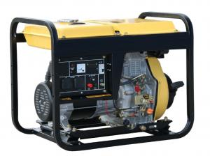 Quality Portable Silent Diesel Generator , Air Cooled Engine 3.0kw Silent Generator For Home for sale