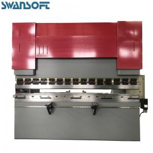 China Factory 4000mm Hydraulic press brake WC67Y-100TX4000 ET10 pan and box brake metal folder on sale
