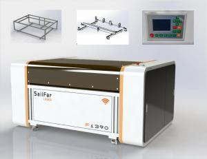 China 1390 Industrial Laser Cutting Machine With Water Chiller , Desktop Co2 Laser Cutter on sale